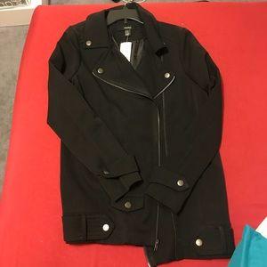 Causal black jacket